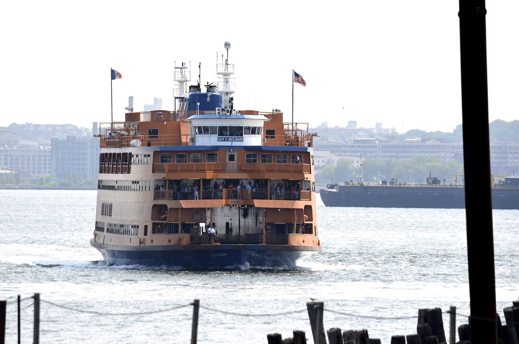 hudson river services and the staten island ferry