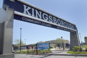 Kingsborough Community College Sign