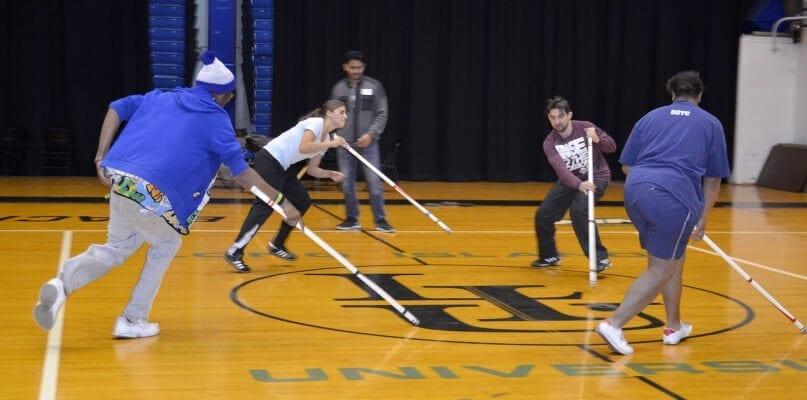 Floor Hockey at LIU