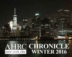 AHRC New York City CHRONICLE – Winter 2016