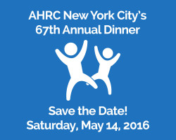 Save the Date for AHRC NYC's 67th Annual Dinner