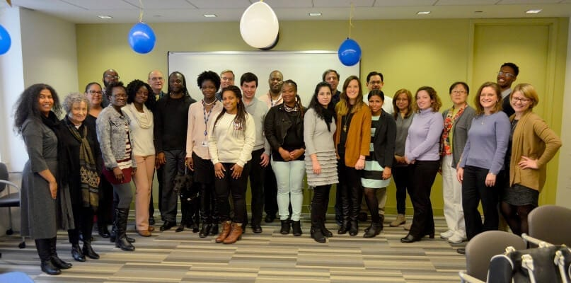 AHRC NYC Honors Social Work Interns for their work in supporting people with intellectual and developmental disabilities
