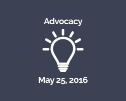 May 25, 2016: Advocacy Workshop