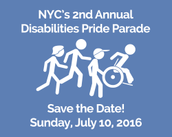 NYC's 2nd Annual Disability Pride Parade