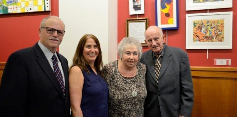 Michael Schwartz, Linda Schwartz, Dorothy Stone, and Bill Stone