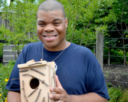 Kings Highway Donates Birdhouses To Brooklyn Botanic Garden