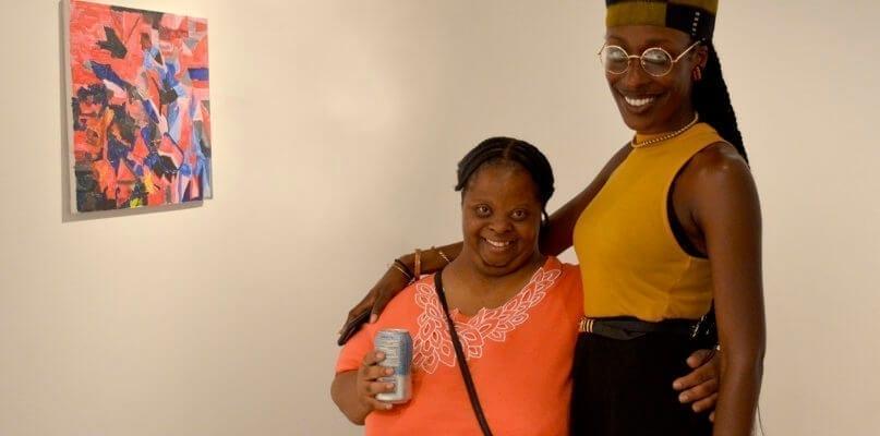 Denisha Brown and Briana Hill, CSP