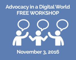 November 3rd Topic: Advocacy in a Digital World