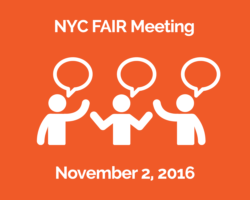 NYC FAIR Novemebr 2nd Meeting: Family Advocacy Information Resource