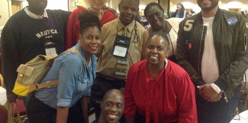 Self Advocates from AHRC NYC at the 2016 SANYS Conference