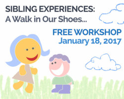January 18th Topic: Sibling Experiences