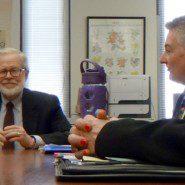 Assembly Member Richard N. Gottfried with Steve Towler of AHRC New York City