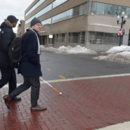 Chad DeRoche and Nicholas Legowski travel to their final day of meetings