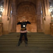 Kritsin Thatcher in the New York State Capitol