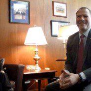 Kritstin Thatcherr with Senator Ortt