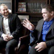 Matt Estep with Victor Carrion at Senator Savino's Office