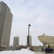 On a cold day in Albany, self advocates met with their legislators to affect change