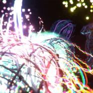 Sceen capture from Cory Tyler's virtual Tilt Brush canvas 02