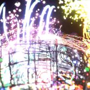 Sceen capture from Cory Tyler's virtual Tilt Brush canvas 07
