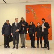 Self Advocates and staff from AHRC NYC on the first day of meetings