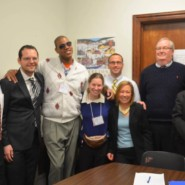 Self Advocates met with the Govewrnor's Office to discuss changes they would like to see