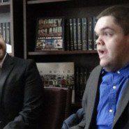 Victor Carrion speaks to Legislators