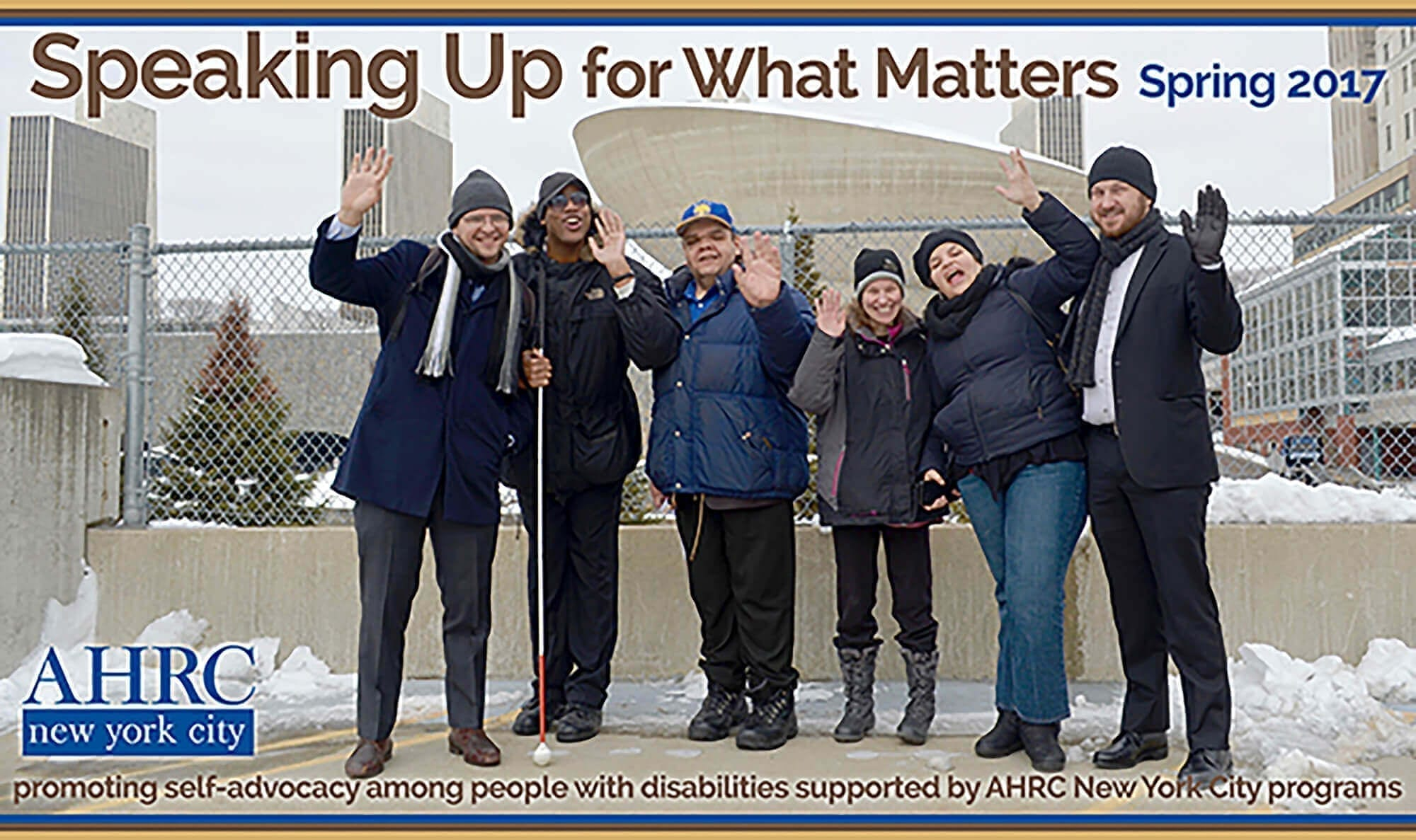 Speaking Up for What Matters Spring 2017