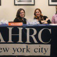 AHRC NYC held a job fair at Lehman College in partnership with Lehman College