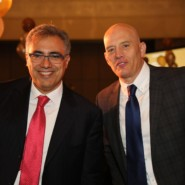 Dinner Chair, Anthony Lazanas with AHRC NYC's Chief Operating Officer, Mike Decker