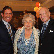 Senator Jeff Klein with I. William and Dorothy Stone