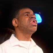 Poet, Martin Neal also accompanied the other singers