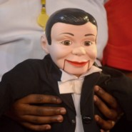 The puppet, Charlie McCarthy was used as part of a performance by Rivelino Lucas