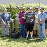 Gardeners from AHRC NYC's Kings Highway Day Center