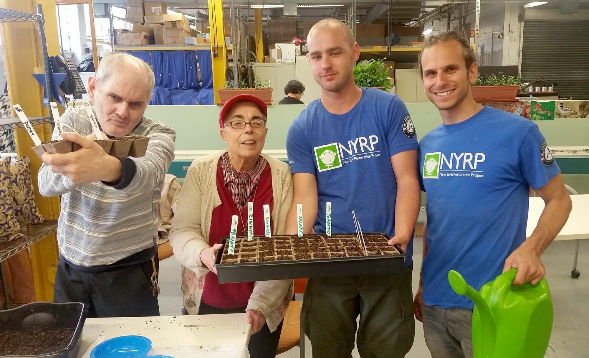 Community Gardens Flourish With AHRC NYC Gardeners And Partners