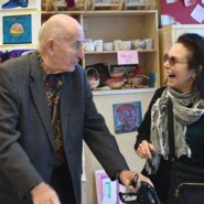 AHRC NYC Board member, Bill Stone with Individualized Services Director, Carole Gothelf