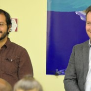 Charles Umaña and Philip Proctor of AHRC NYC's Individualized Technology Strategies