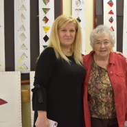 Darinka Vlahek, Director of Curriculum and Community Supports, Adult Day Services with Dorothy Stone