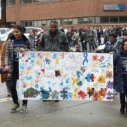 Howard Haber Early Learning Center's Autism Awareness Parade