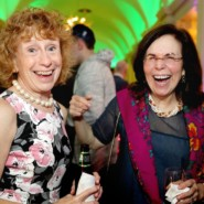 Sharing a laugh with Mary Anne Killeen, Director, Camping and Recreational Services, with Carole Gothelf, Director, Individualized Supports