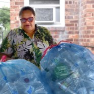The Bellrose Residence's recycling program is one of Alricka's initiatives