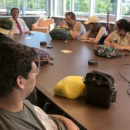 The group chatted with Executive Editor Brian Laline about a wide range of topics at the Staten Island Advance headqaurters