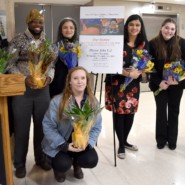 Artists gather at Montefiore for a special exhibition of their work