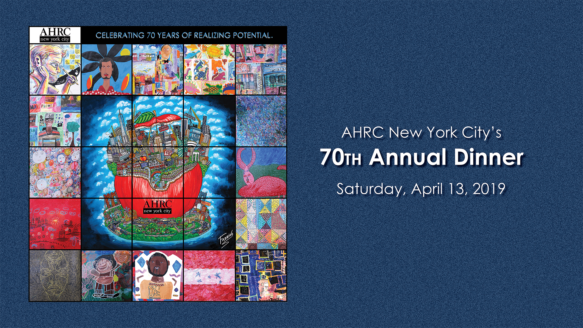 AHRC NYC's 70th Annual Dinner Journal