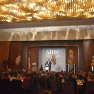 Self adovcate Michael Carbonaro gave the innocation at the 70th Annual Dinner