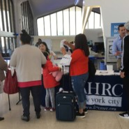 Nearly 30 families participated in Wings for All®, hosted by AHRC NYC, The Arc, United Airlines and the Transportation Security Administration