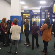 The indoor playground at Central Park ELC wowed the KCC students