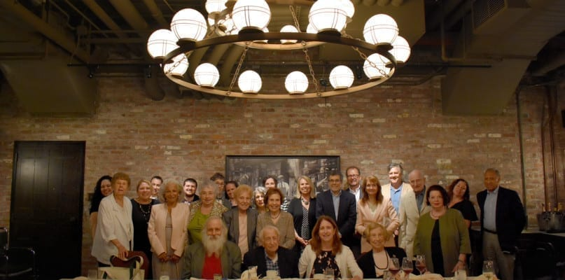 The AHRC NYC family celebrated Jack Gorelick's 100th birthday at the Beekman Hotel
