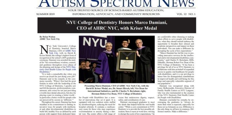 ASN NYU honors Marco Damiani