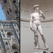 James and Esteban experienced some of the most famous cultural artifacts in the world, including Michaelangelo's Statue of David and the Leaning Tower of Pisa