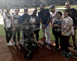 Children's Services Meets Amed Rosario, New York Mets Shortstop